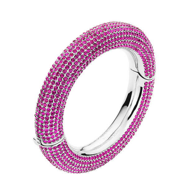 Bangle in Fuchsia