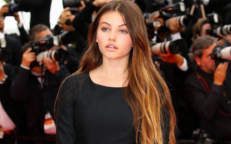 The scandalous young model Thylane Blondeau debuted in Cannes