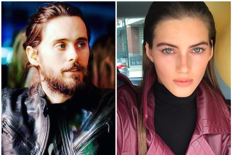 Jared Leto went on a date with a Russian model Valery Kaufman