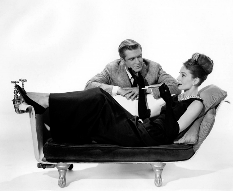 "Sofa-bath from the film ""Breakfast at Tiffany"""