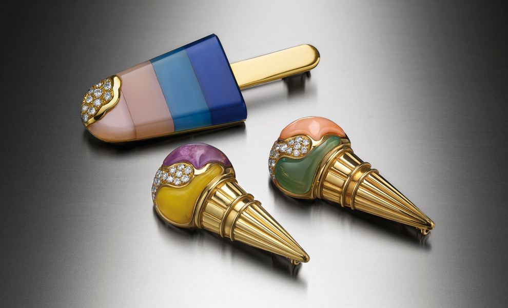 Roman Sorbet — jewelry summer dessert by Bvlgari