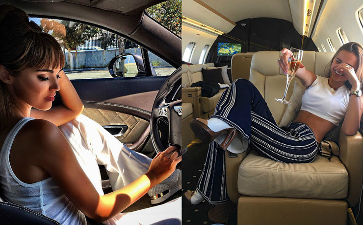 Xenia Deli is showing off of a luxurious life on Instagram and sending out a clear message to her critics