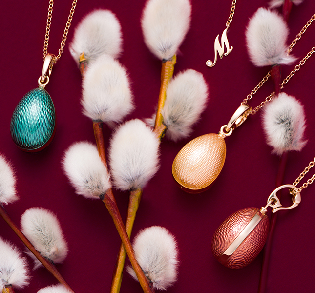 Special gift: Easter jewelery collection Mercury