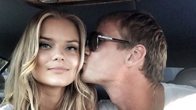 Victoria's Secret Angel Kate Grigorieva started an affair with a football player Anton Shunin