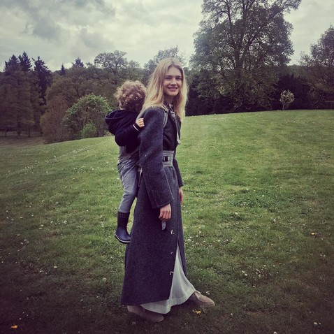 Natalia Vodianova showed off how her oldest son from Antoine Arnault grew up
