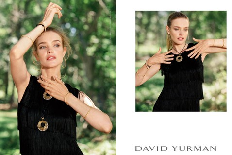 Natalia Vodianova looks like 15-year-old girl in David Yurman Jewelry campaign