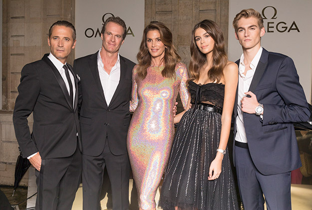 Omega announces Kaia and Presley Gerber as brand ambassadors