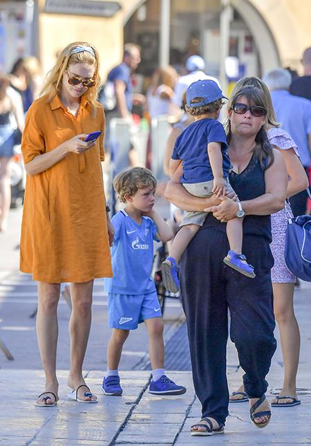 Natalia Vodianova showed off her eldest son from Antoine ...
