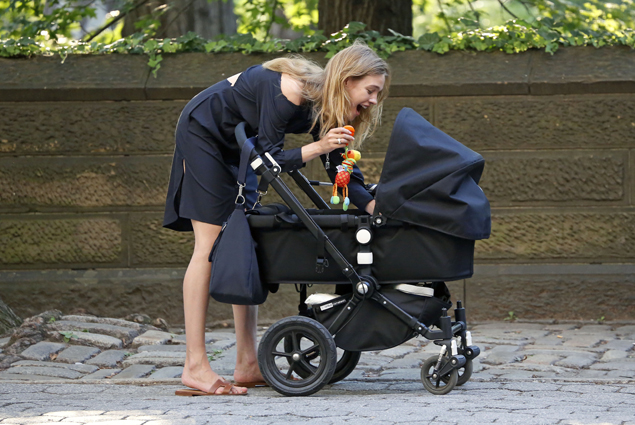 Natalia Vodianova showed her son Maxim Arnault