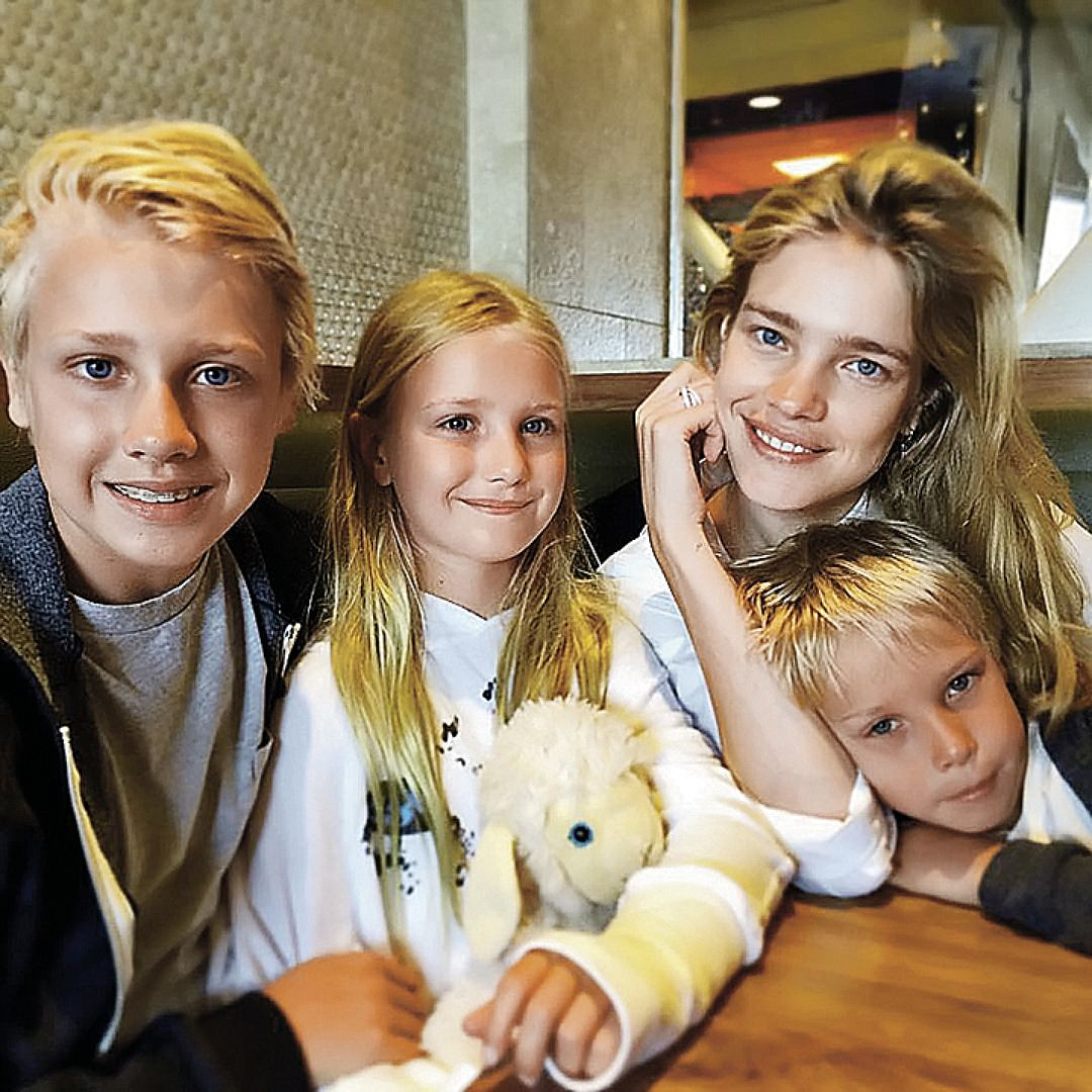 natalia vodianova opens up about raising 5 kids