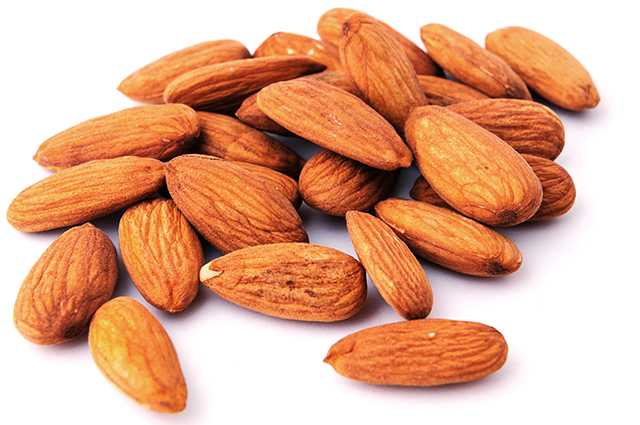 Almonds. A petite pack of almonds is the go-to for hunger pang removal. They're also insanely good for you – checking off healthy heart and cholesterol lowering benefits, plus they help you feel fuller longer.