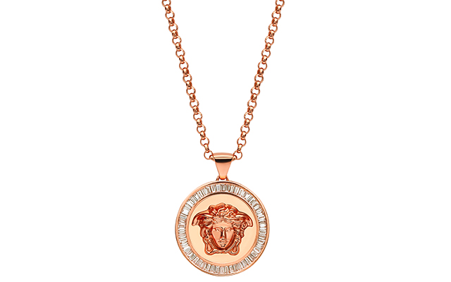Versace Medusa Pendant with Baguette Diamonds, Dhs25,700