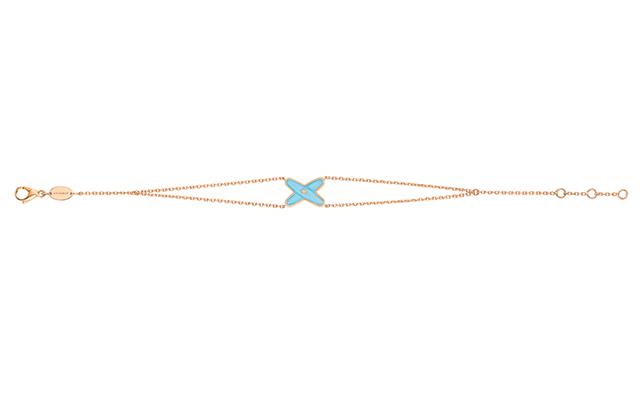 Bracelet Liens de Couleur Turquoise