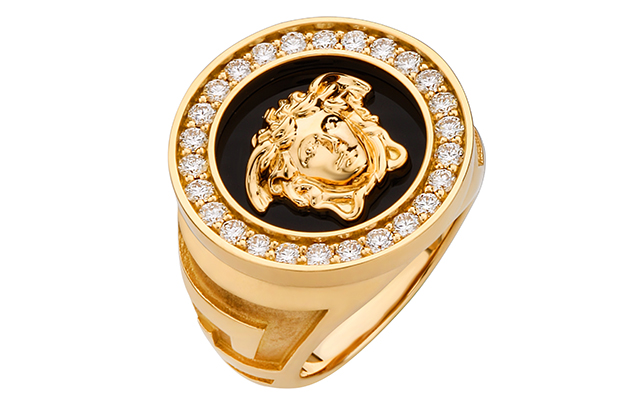 Versace Medusa Large Ring with Diamonds, Dhs23,200