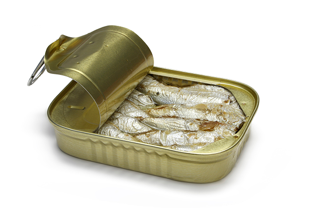 Sardines. A tiny tin of these super snackers may not make you any friends in the office on account of the aroma, but your body will thank you. One of the most concentrated sources of omega-3 fatty acids, these fishy delights also pack a serious vitamin punch with bone-building vitamin D and healthy heart vitamin B12.