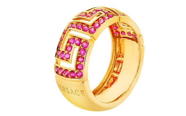 Versace Greca Ring, Dhs10,300