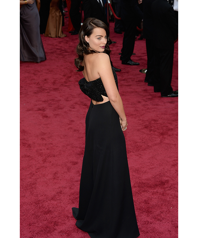 At the Oscars, March 2, 2014