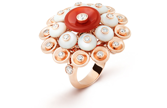 Bouton d'or ring