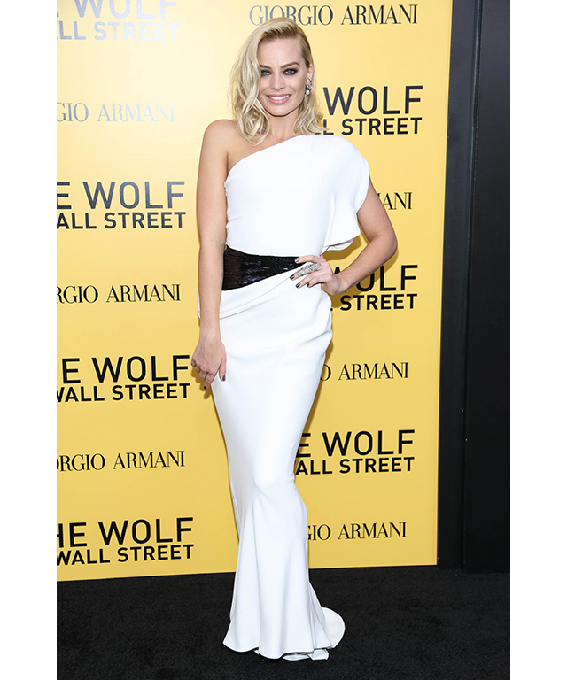 At 'The Wolf Of Wall Street' New York premiere, December 17 2013