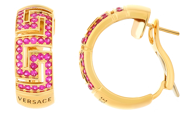 Versace Greca Earrings, Dhs16,900