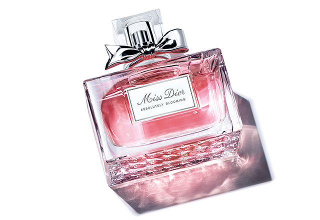 Delve into the floral, sensual notes of Miss Dior Absolutely Blooming