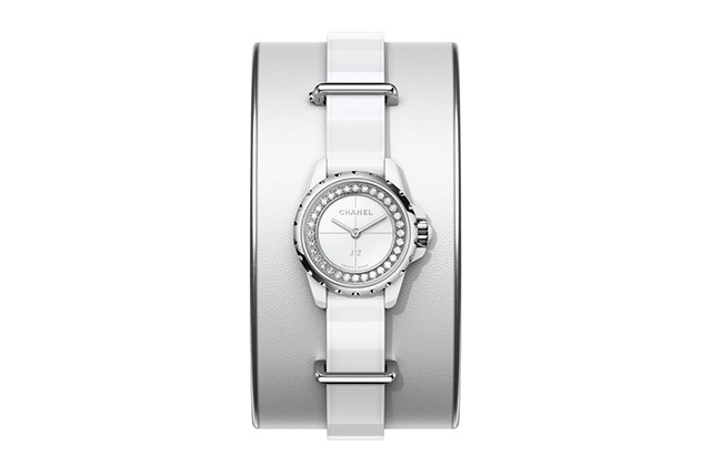 Chanel J12-XS White High Jewellery Small Cuff
