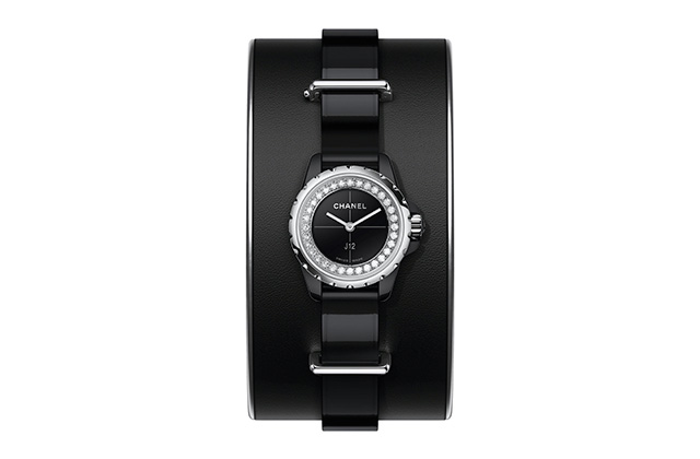 Chanel J12-XS Small Black Cuff