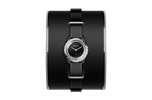 Chanel J12-XS Black High Jewellery Small Cuff