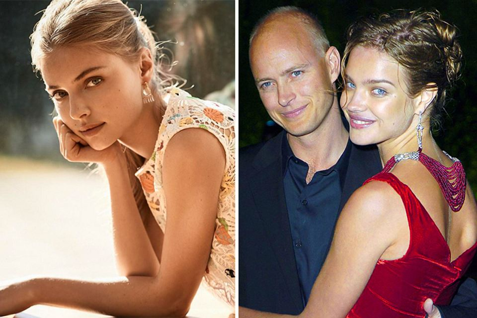 The former husband of Natalia Vodianova Justin Portman is dating a Ukrainian model Anna Shut