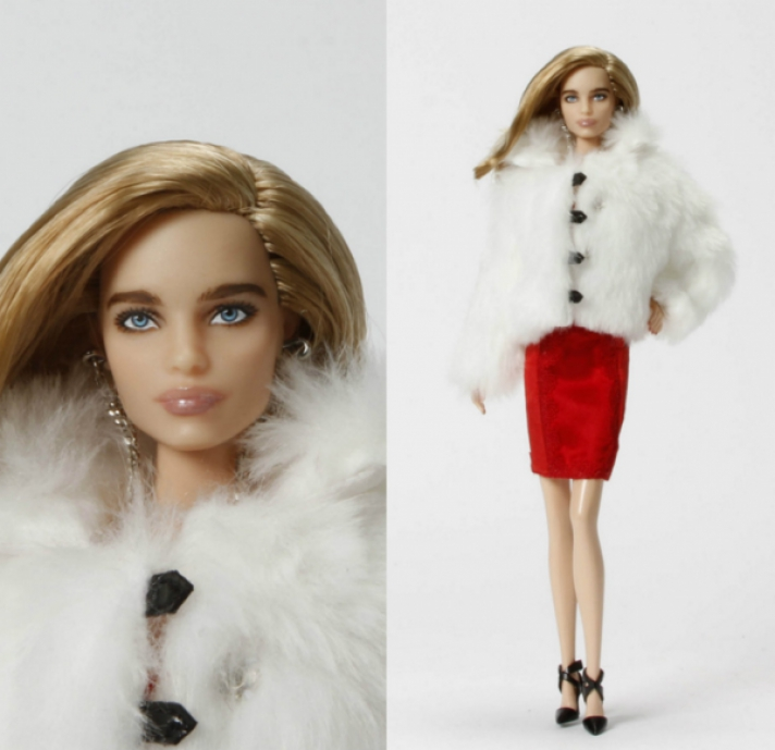 Supermodel Natalia Vodianova turned into Barbie doll